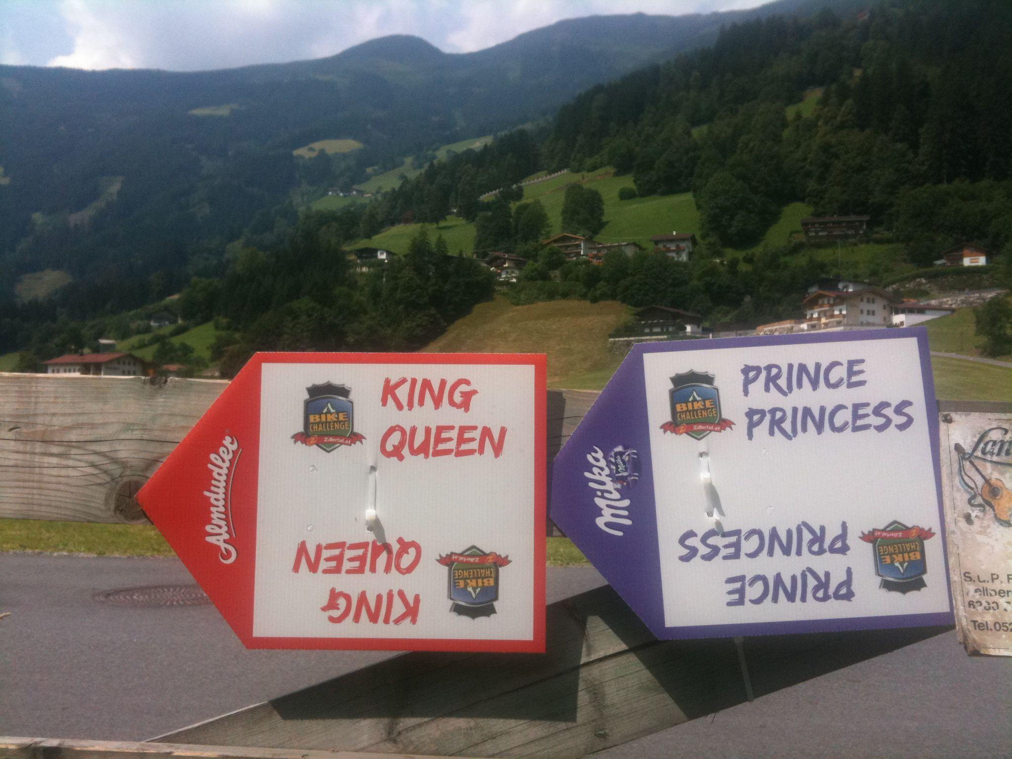 Prinzessin oder Königin der Berge?