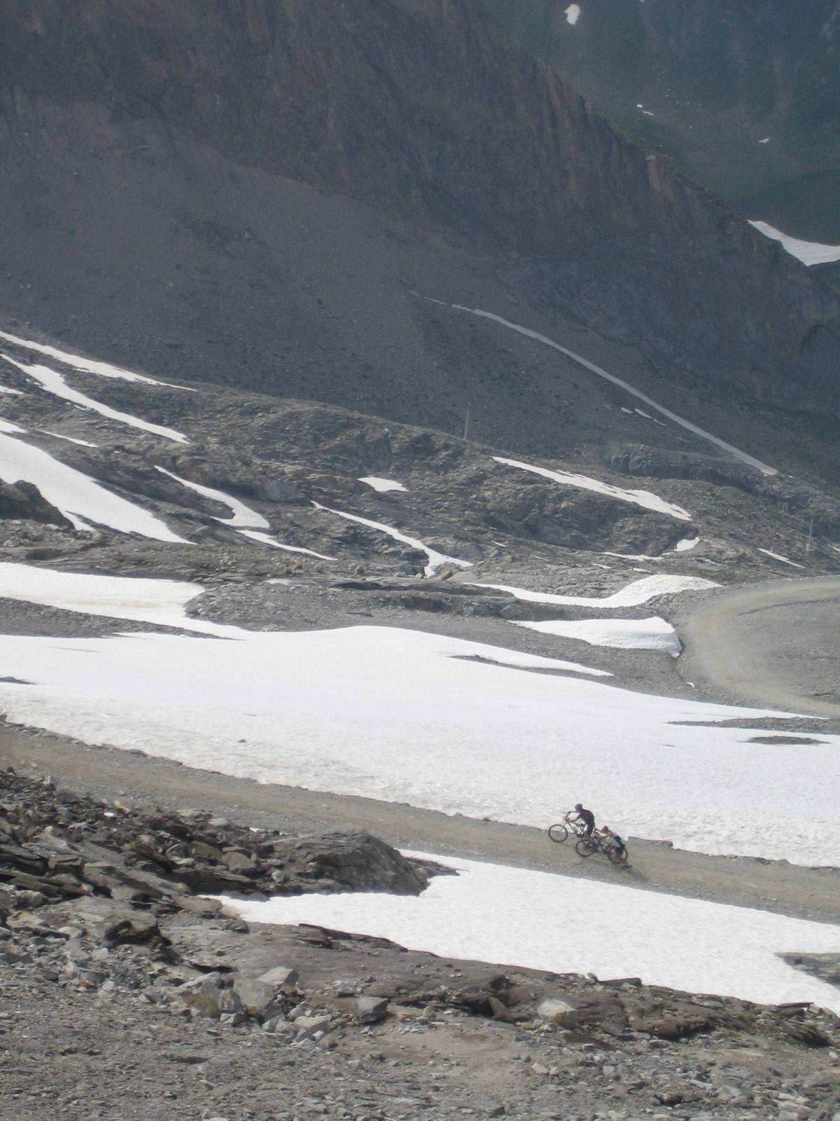 Kaum zu schaffen: der Hintertuxer Gletscher