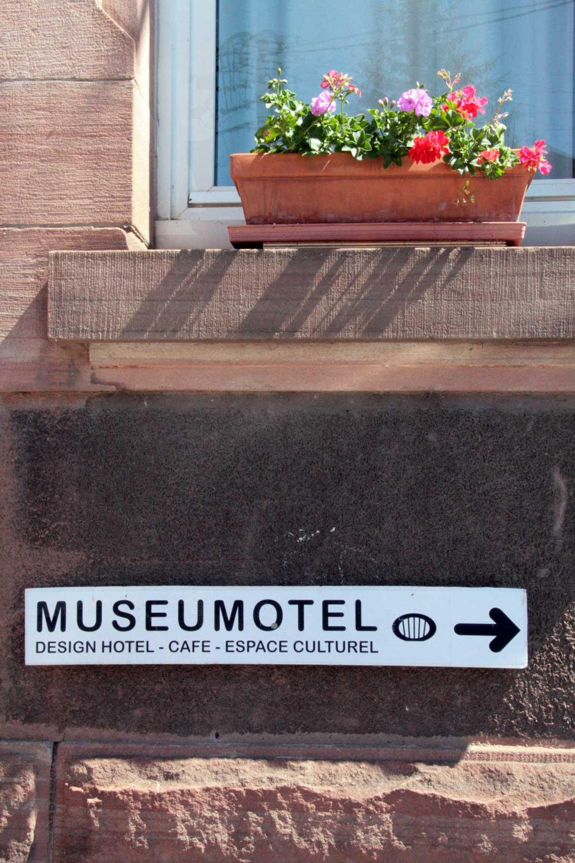 Da gehts lang zum Museomotel, Richtung Halbinsel