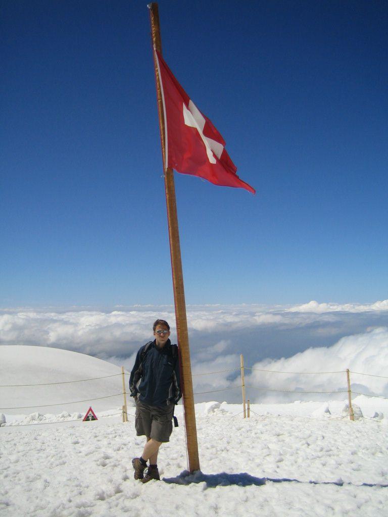 Ein Bild aus Zeiten, als die Schweiz und ich noch miteinander konnten