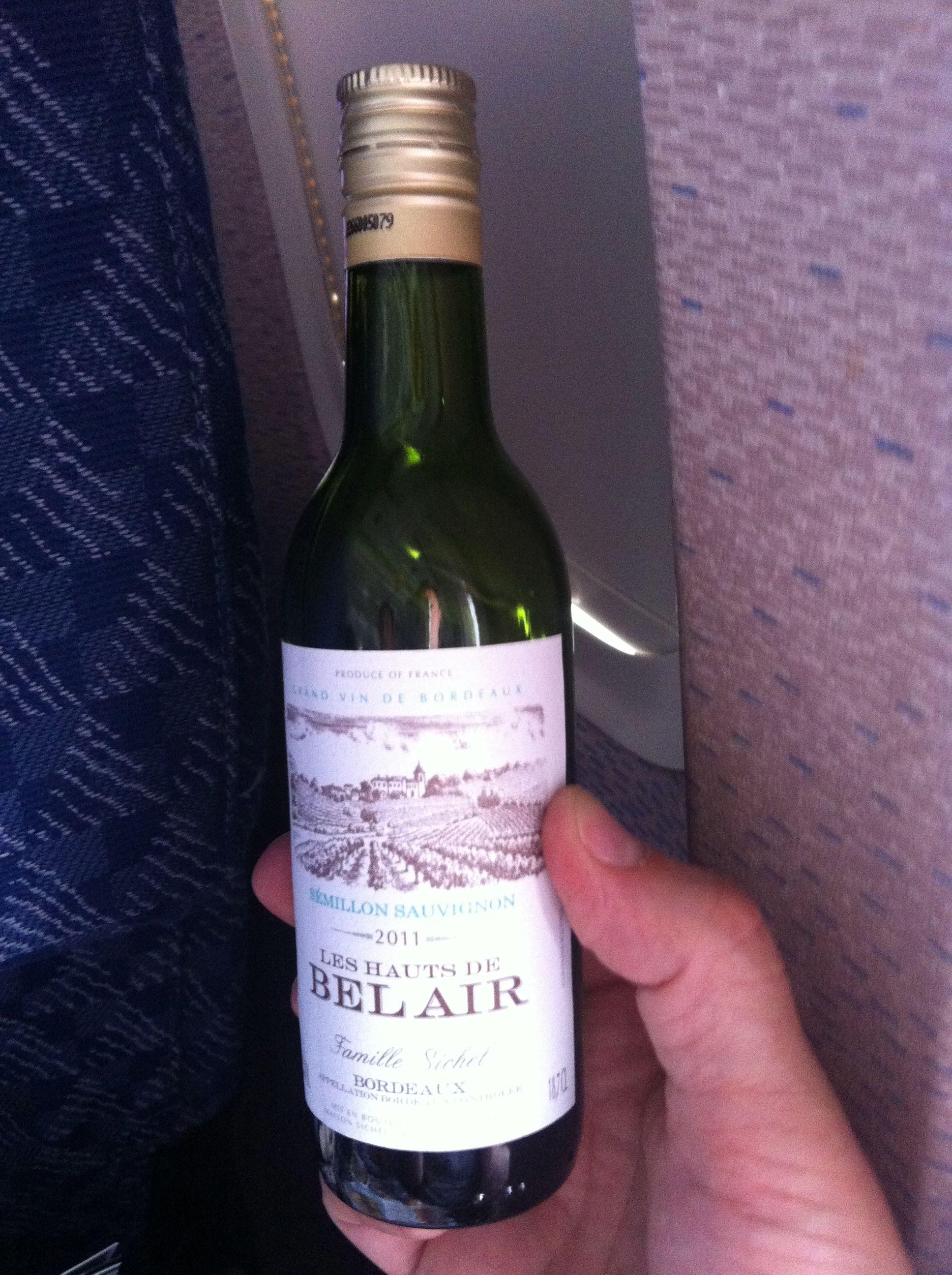Gar nicht so schlecht: Die Cuvee aus Semillon und Sauvignon Blanc