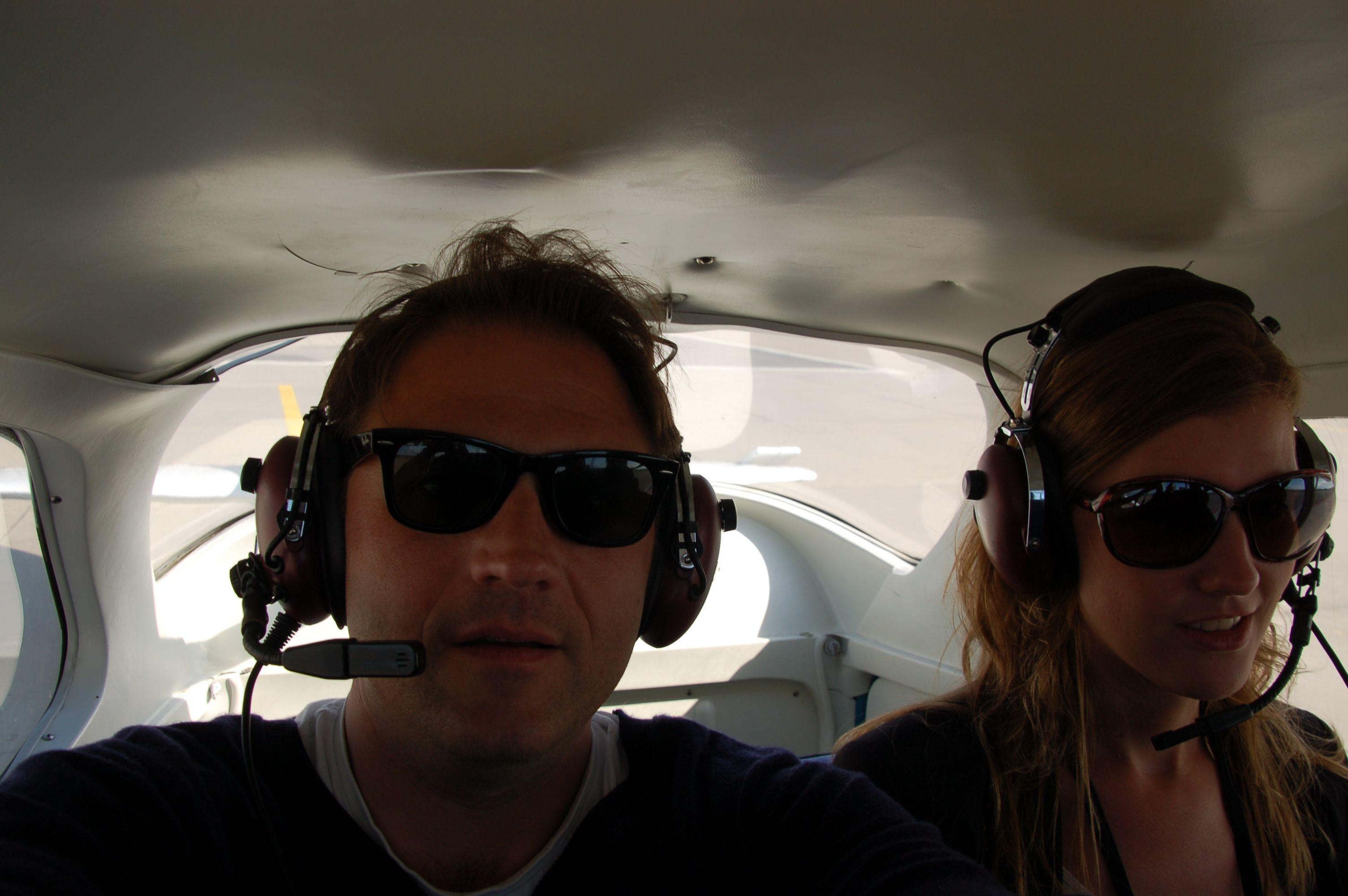 Kopfhörer-Recherche in 300 Metern Höhe