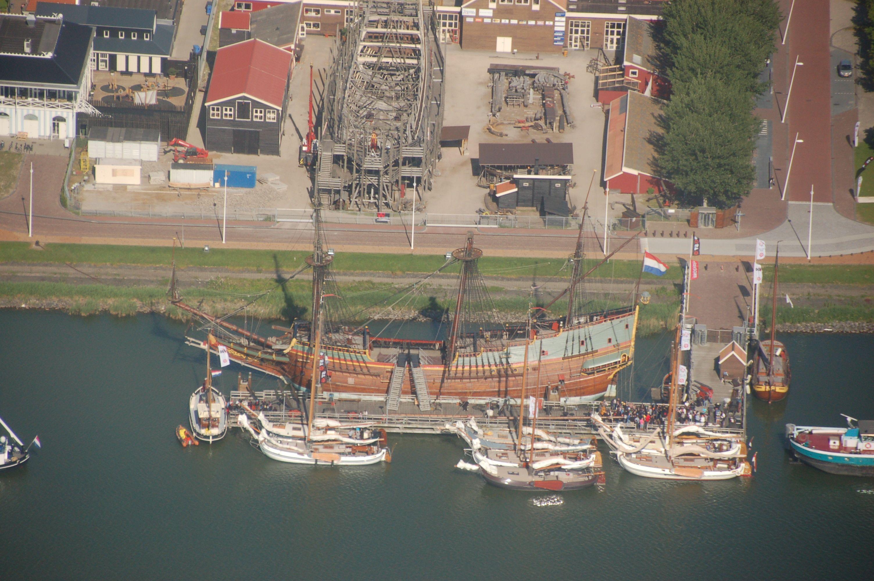 Maritimes Disneyland: Die Batavia-Werft in Lelystadt