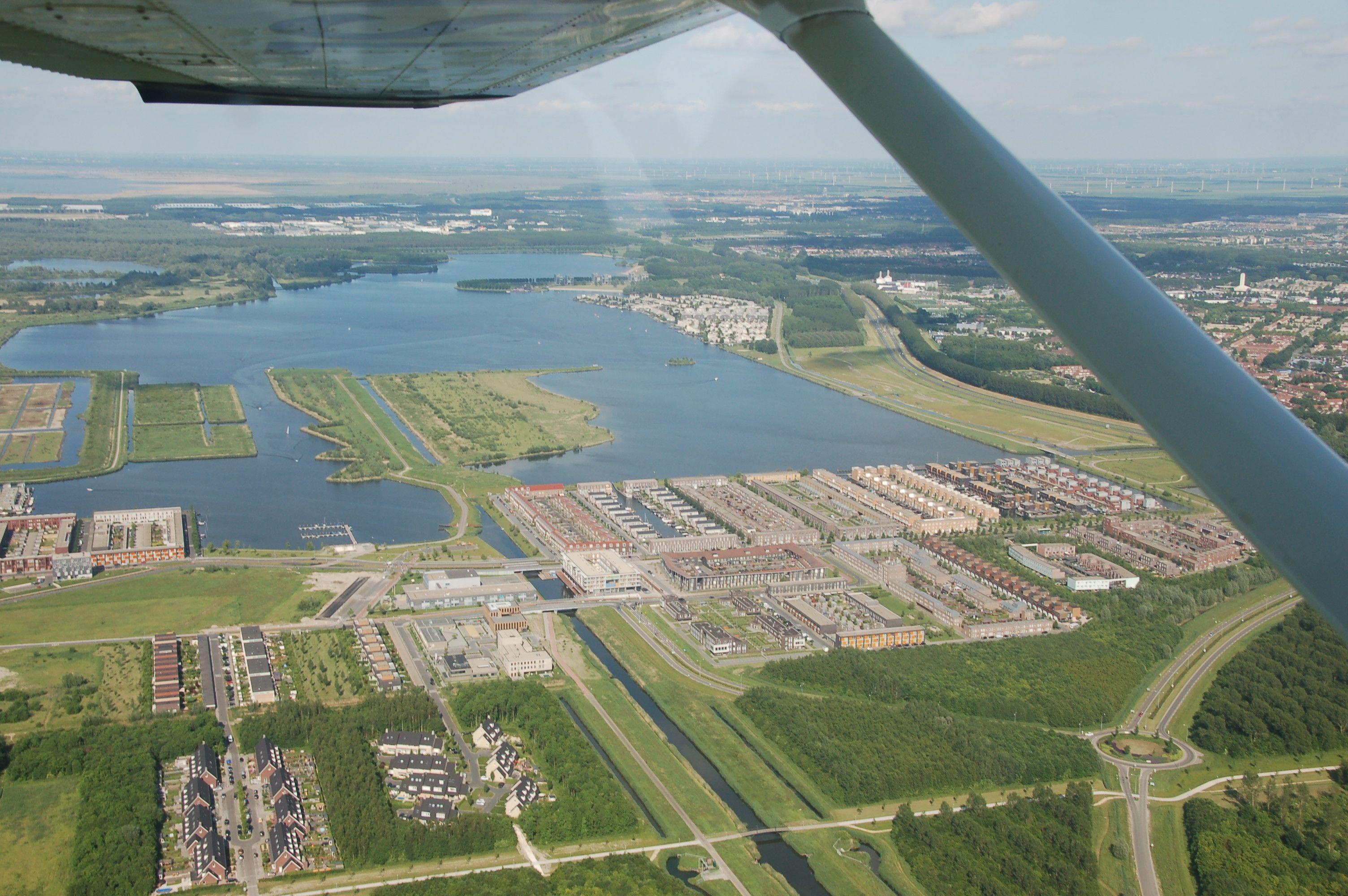 Wachstum ist alles: Wenn noch mehr Menschen nach Almere wollen, werden halt noch ein paar Inselns ins Wasser gesetzt