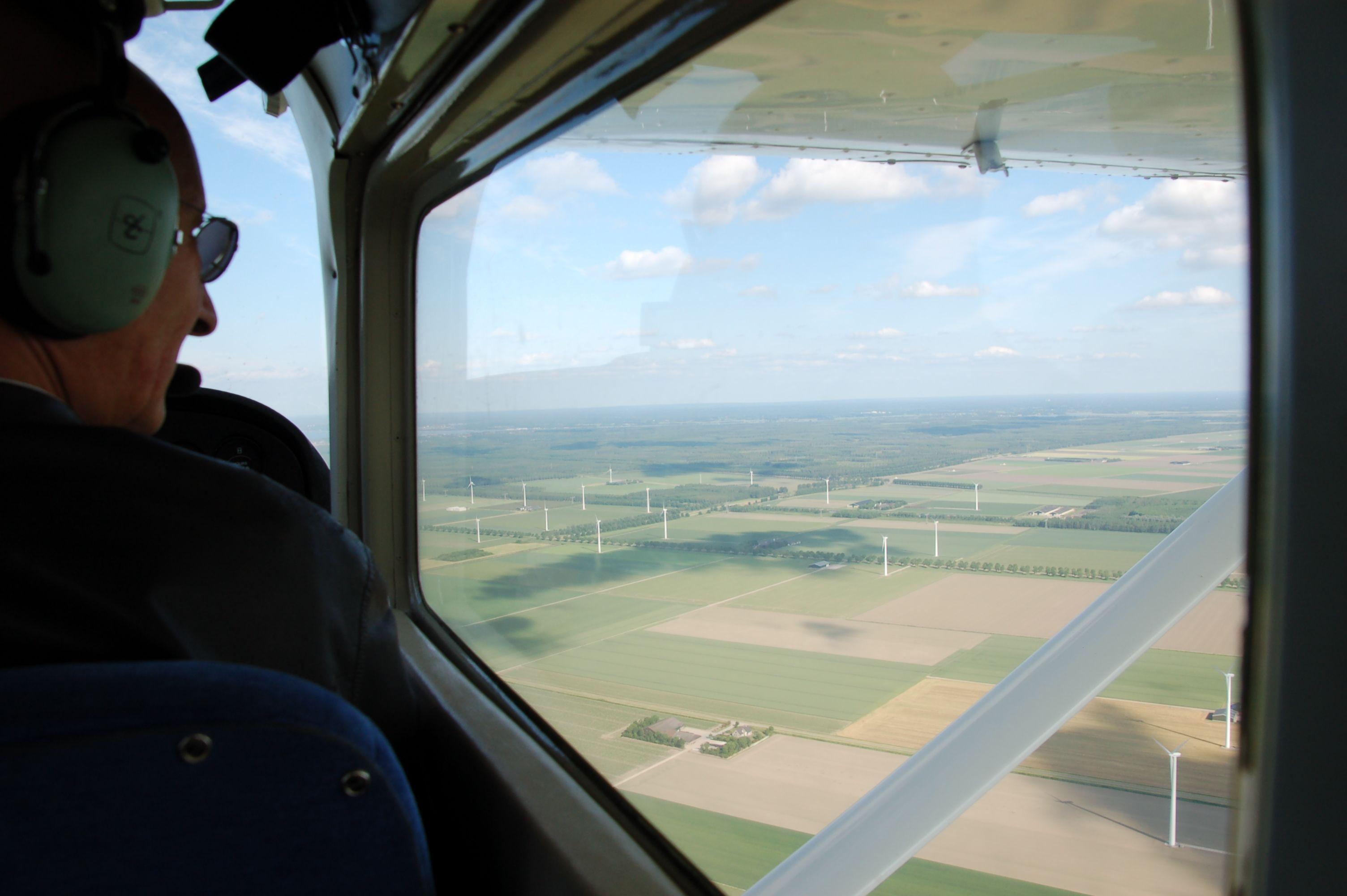 If onyl we were pilots: Sylvain de Haas in seinem Cockpit