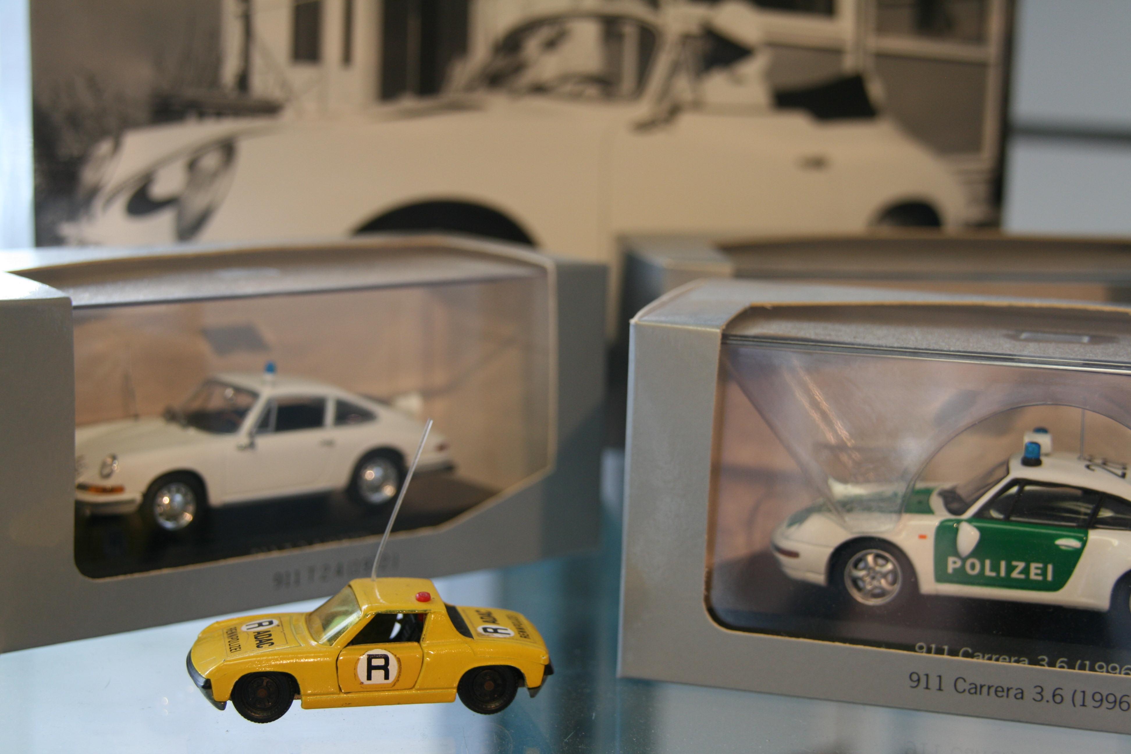 Das Modell, das Erinnerungen weckt: der gelbe Porsche 914 im ADAC-Lack