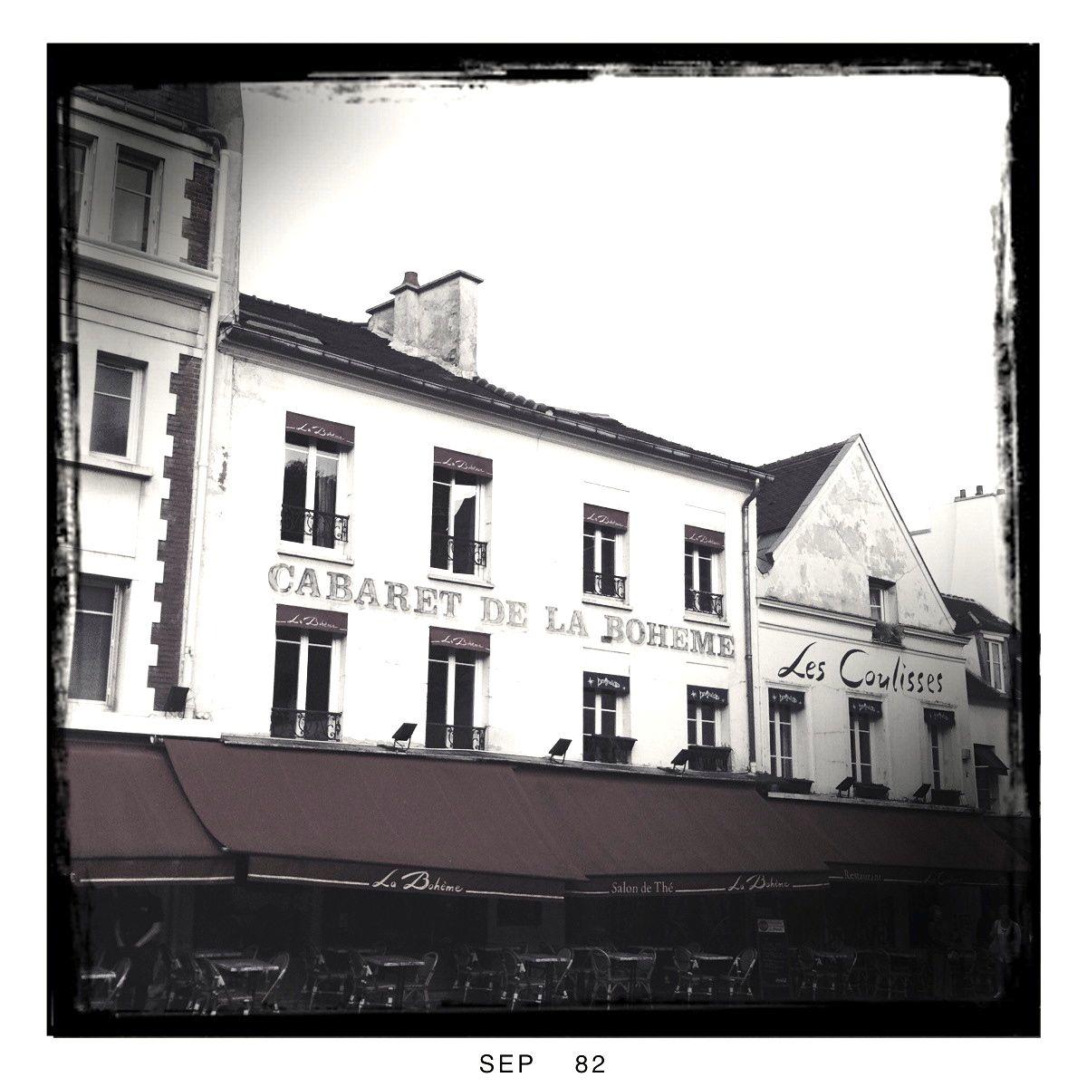 Der Montmartre: Freilichtmuseum in frühmorgendlichem Ruhezustand