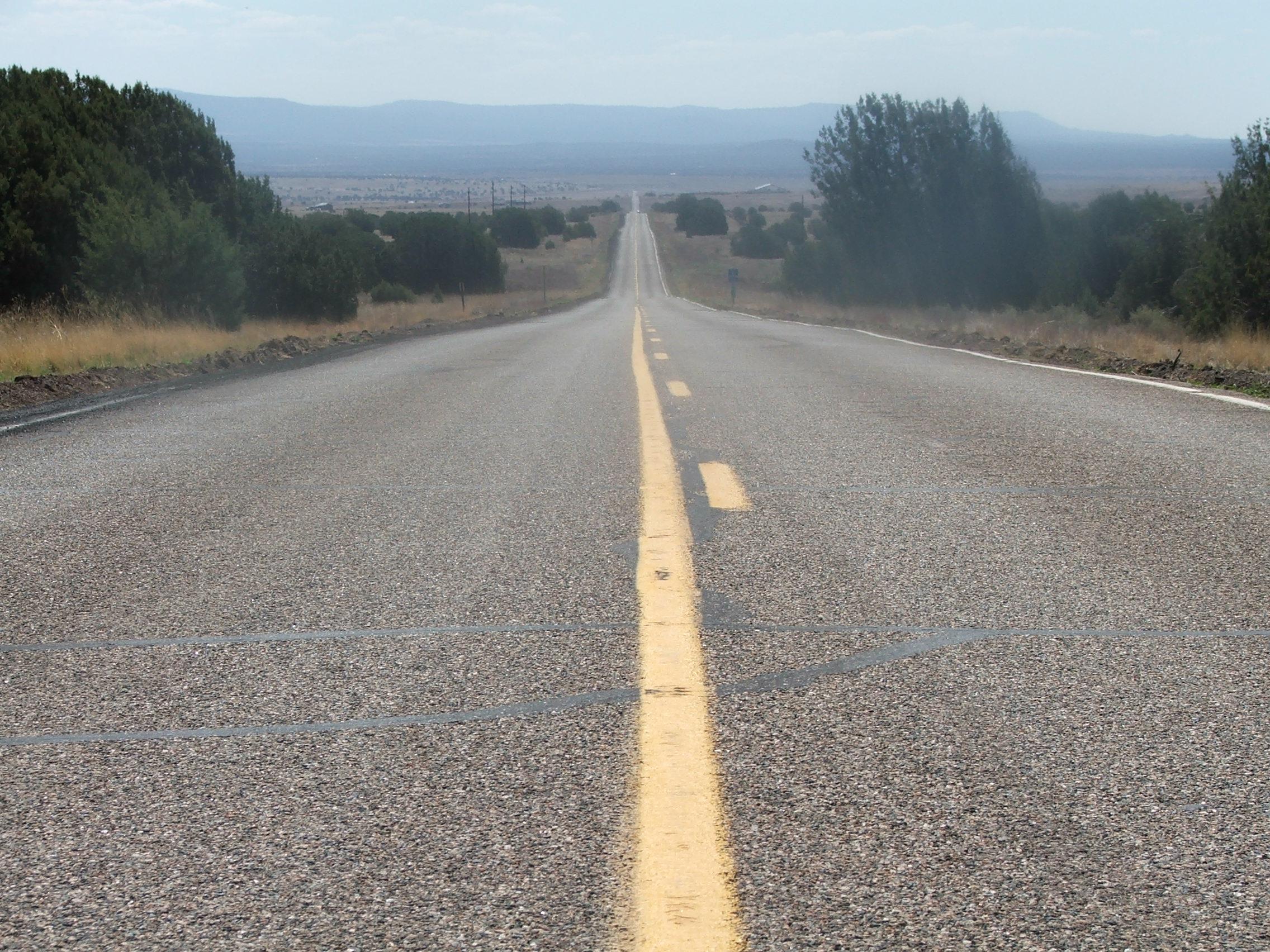 US-Symbol mobiler Freiheit - Die Route 66 (hier in Arizona)