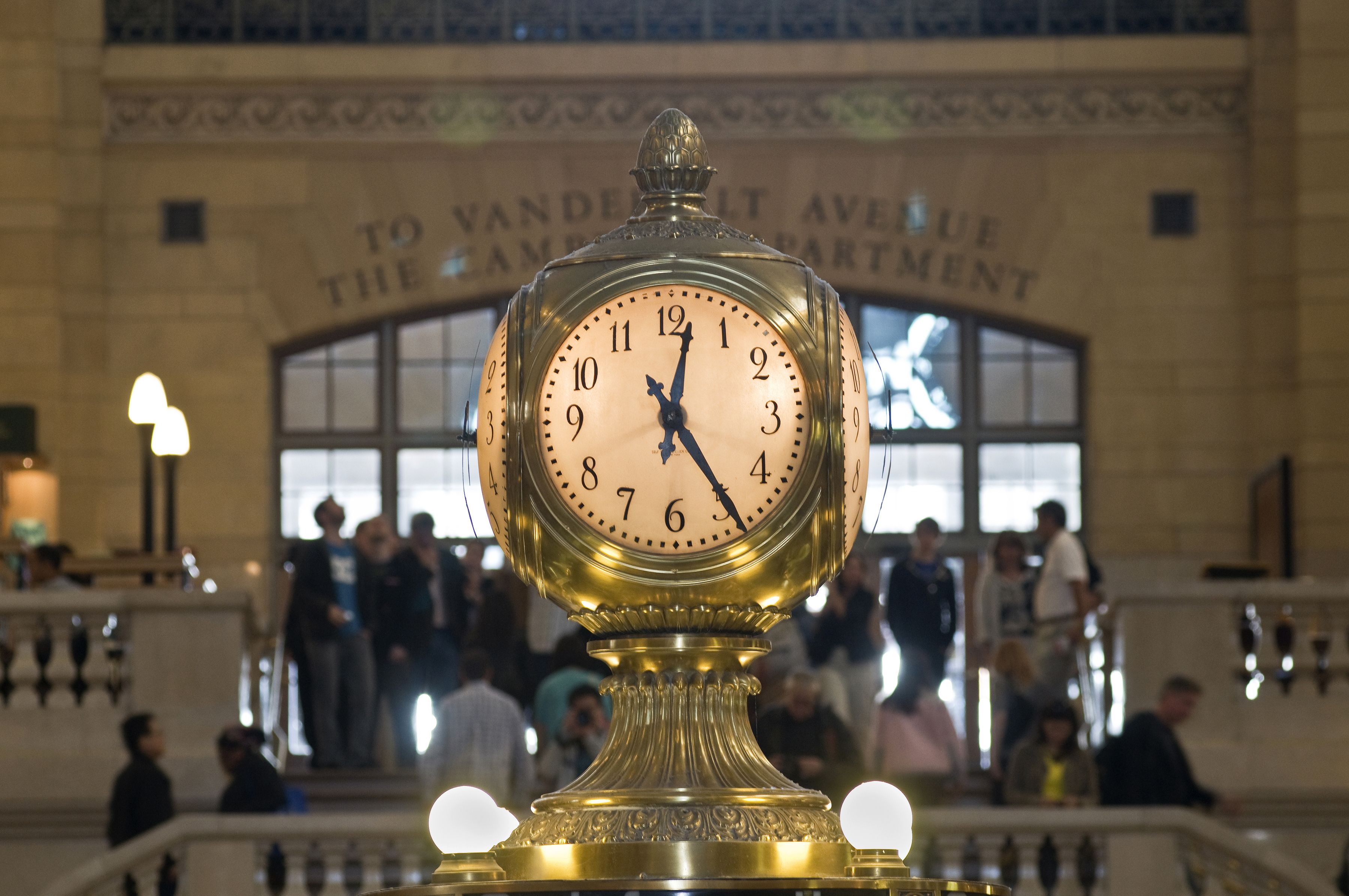 GCT - Information Booth Clock