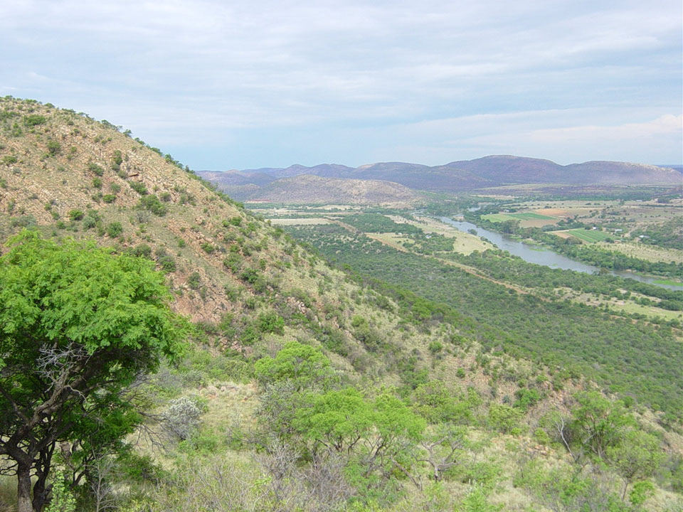 Vredefort Dome Area (Quelle: Southafrica.net)
