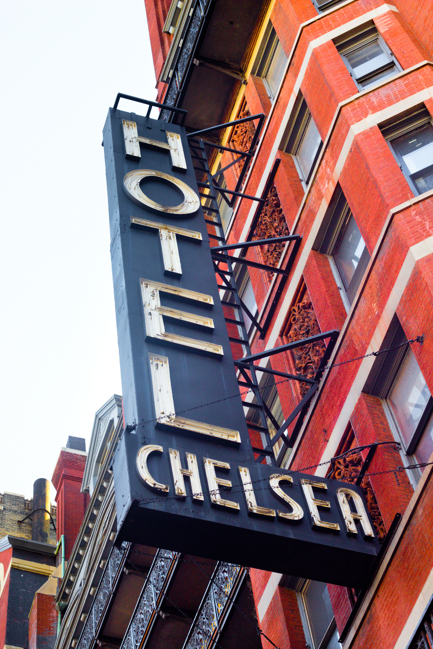 I remember you well in the Chelsea Hotel Copyright: ittleny / Shutterstock.com