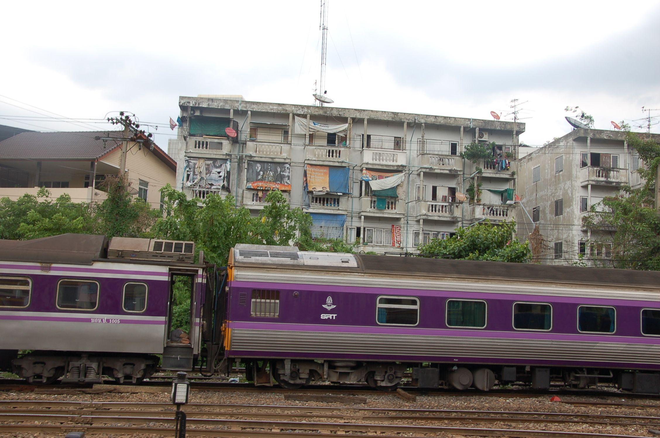 Bahn durch Thailand 02