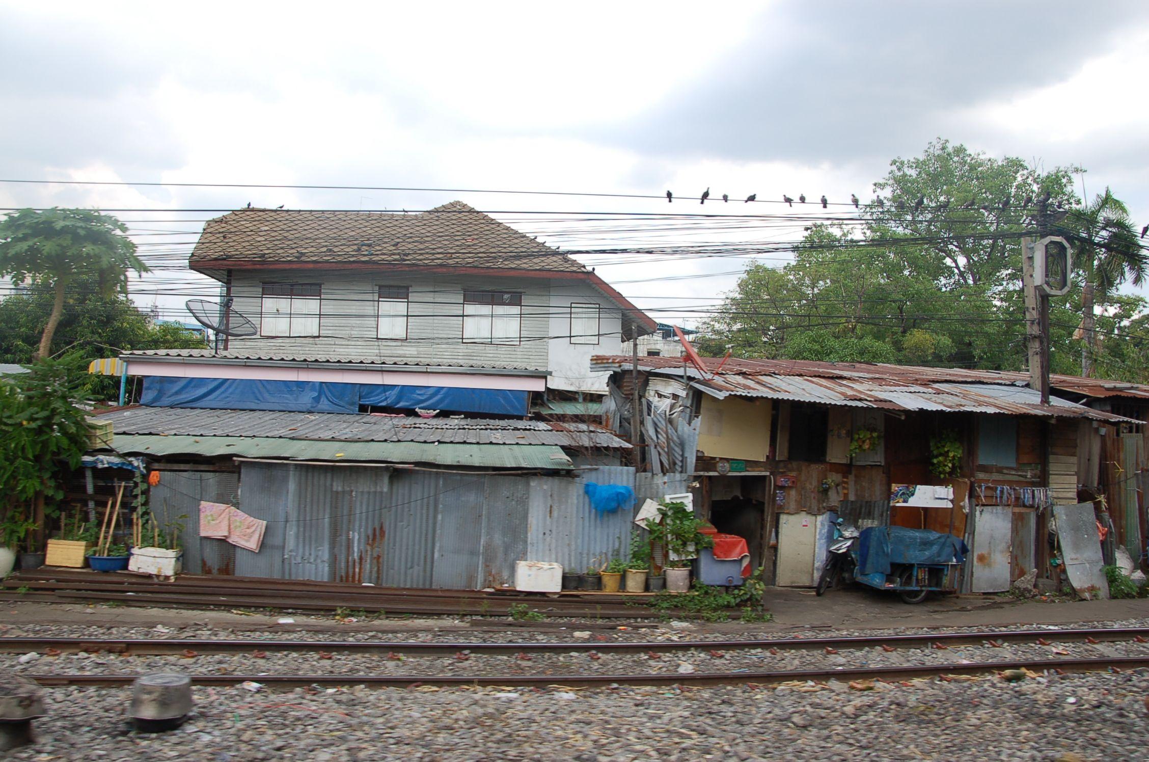 Bahn durch Thailand 03