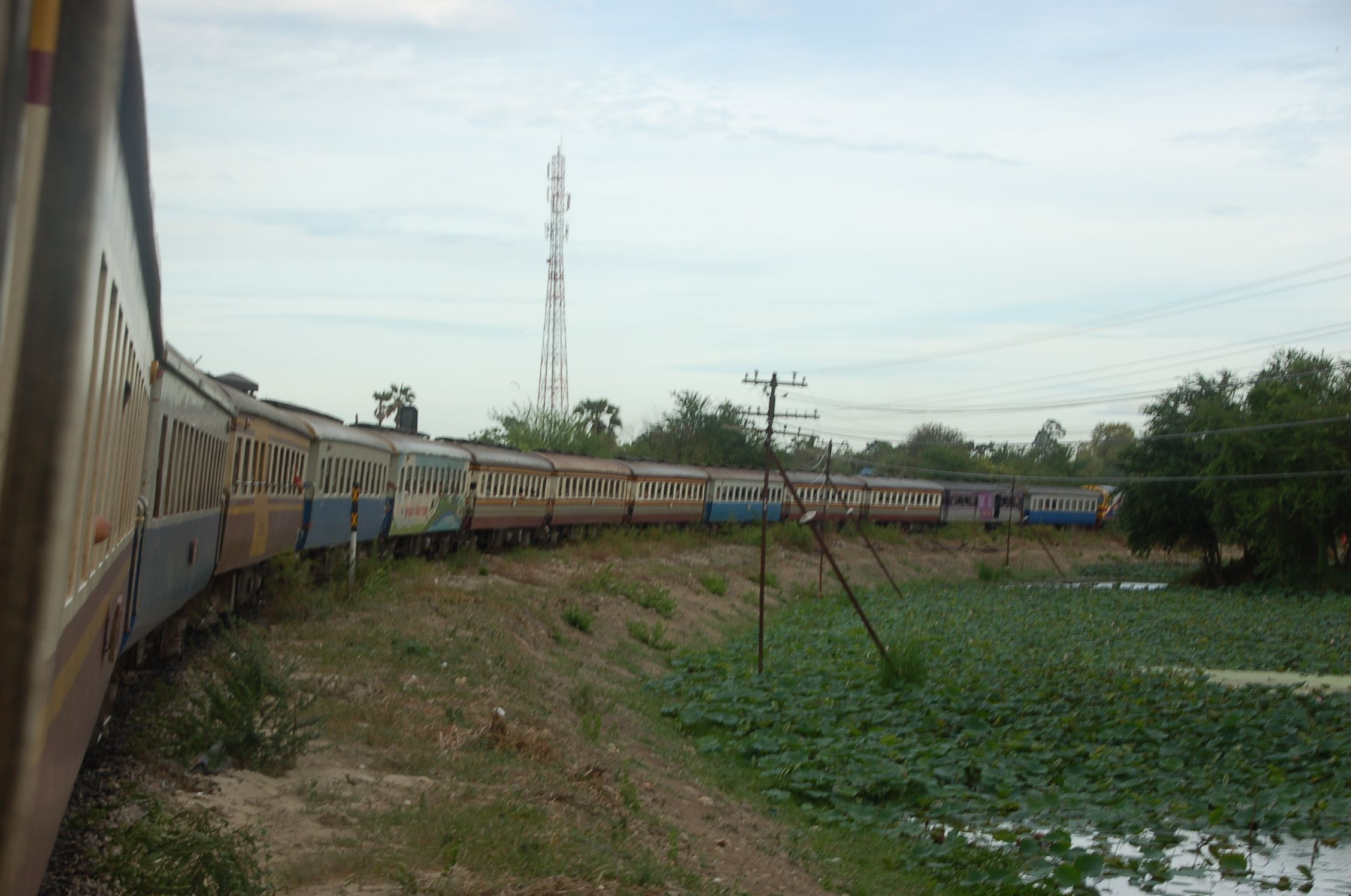 Bahn durch Thailand 13