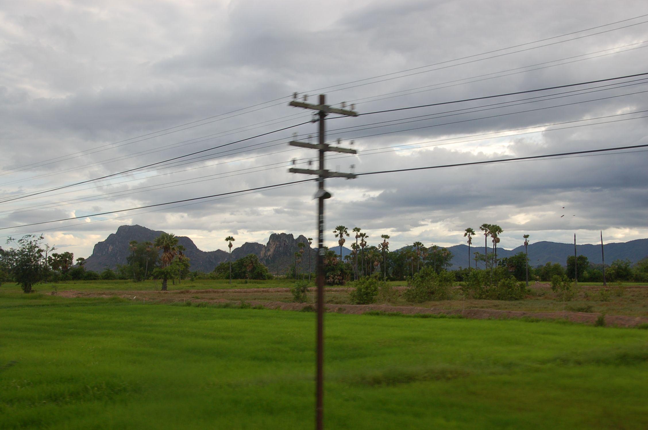 Bahn durch Thailand 14