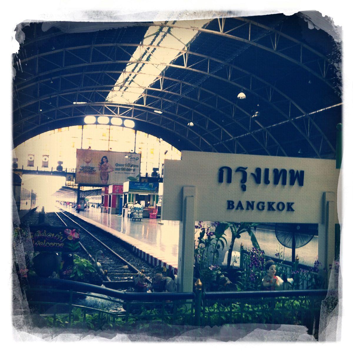 Bahn durch Thailand 18