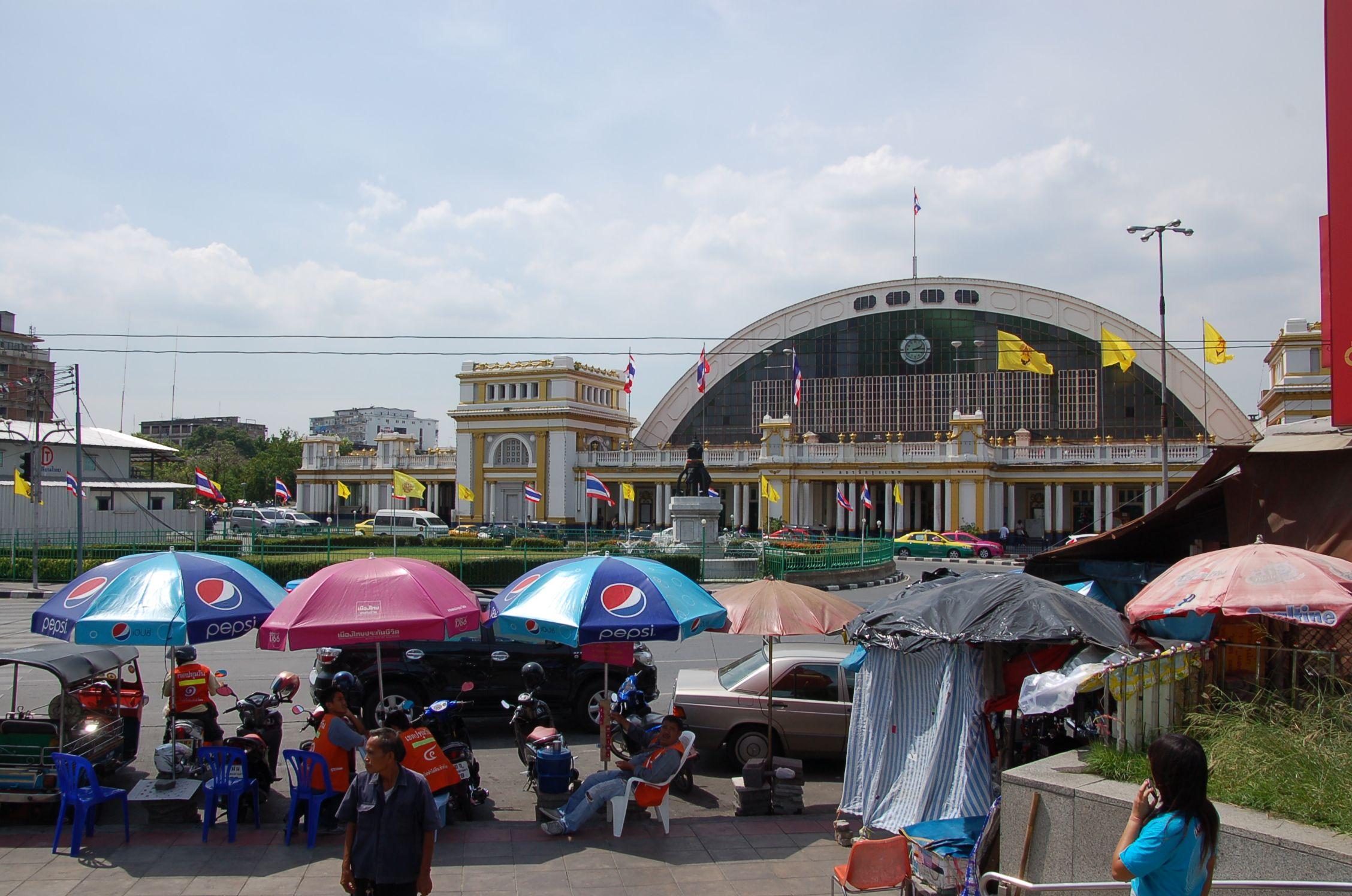 Bahn durch Thailand d1