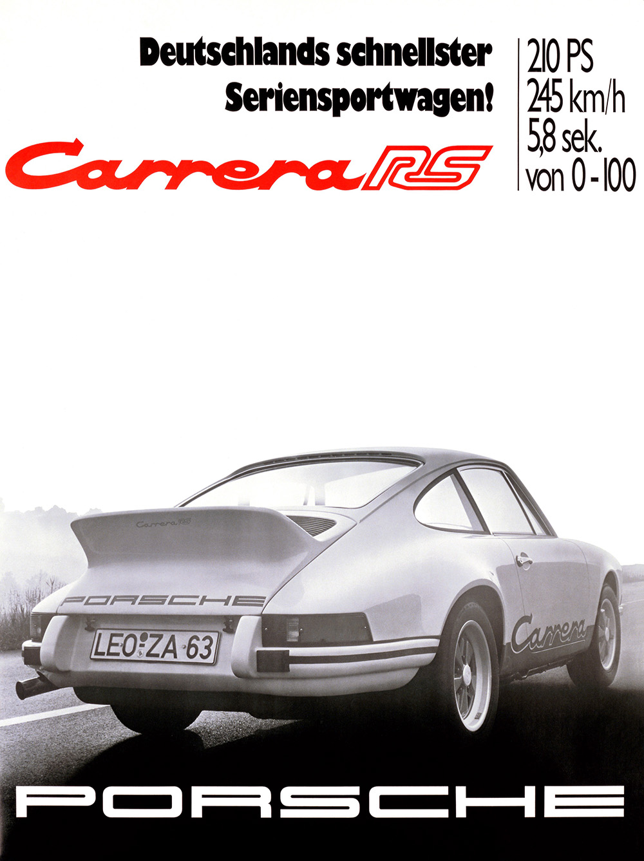 Der ist von 1972 und noch nicht ganz so schnell wie die Turbo-Erstauflage von 1974