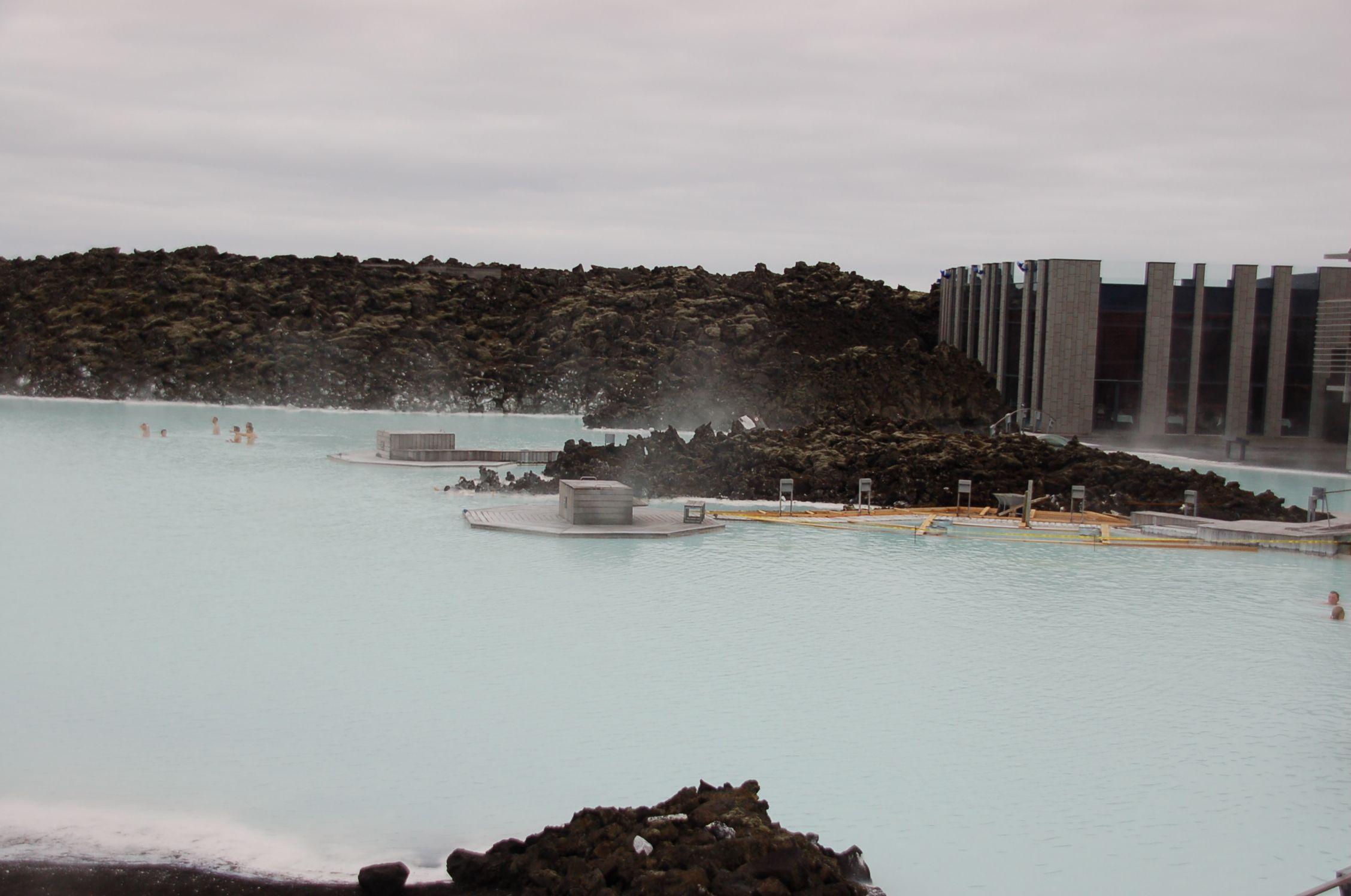 Der weltweit einzige Ort, wo heißes Süßwasser auf kaltes Salzwasser stößt