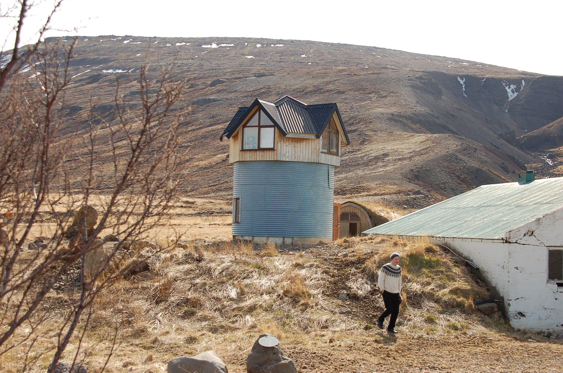 In dieser Skulptur lebt Páll Guðmundsson, einer jener Künstler, die mit Sigur Ros musiziert haben