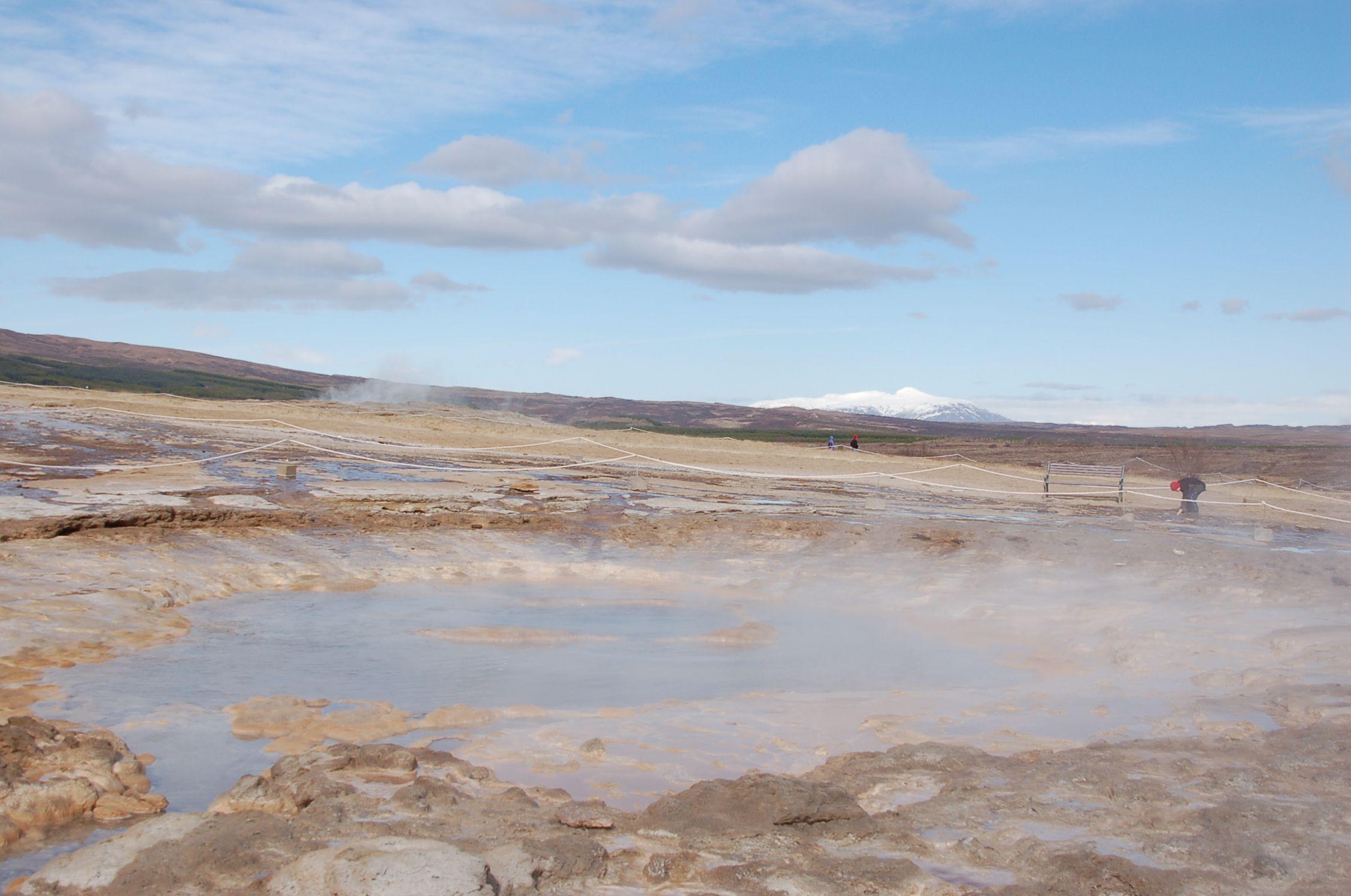 Und zur Verschmelzung mit der Landschaft