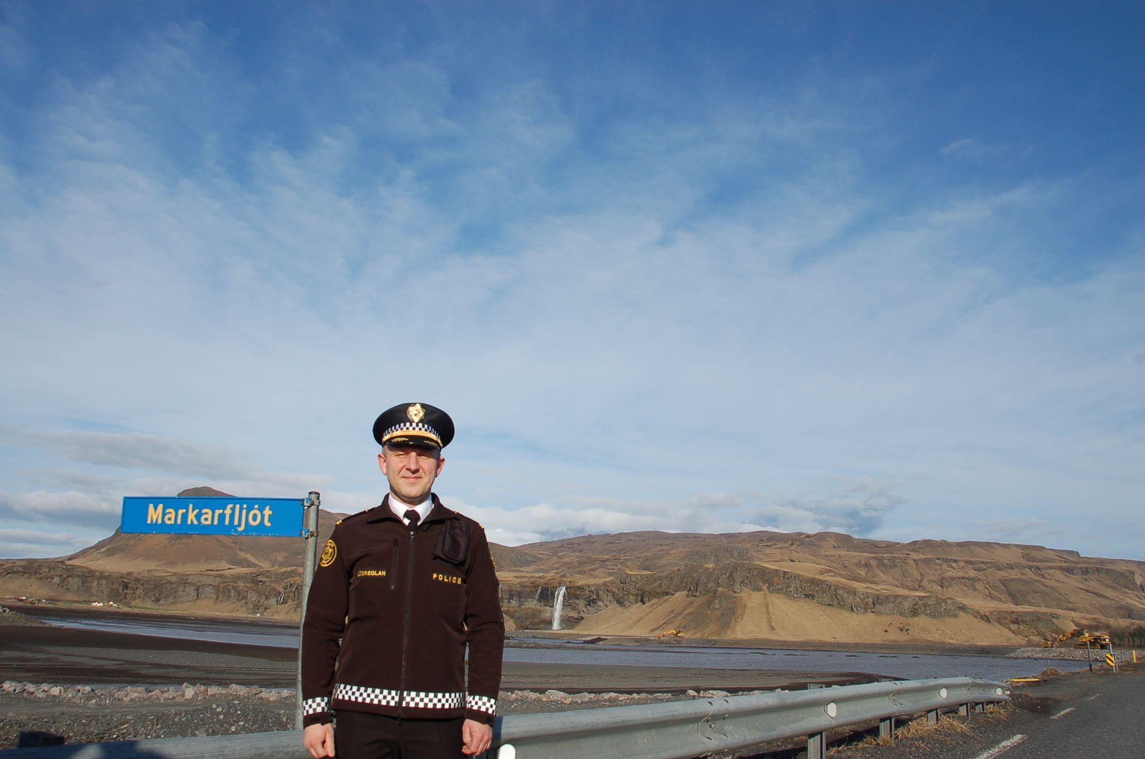 Gegen den Vulkan ist auch die Polizei machtlos