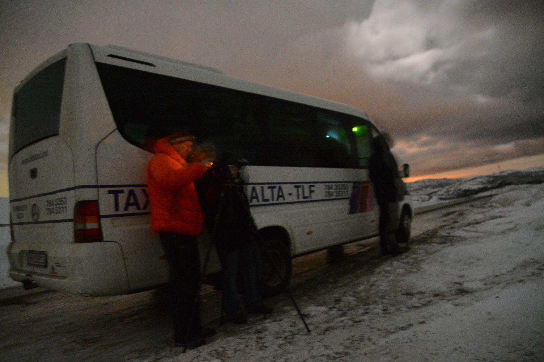 Polarlicht in Norwegen23