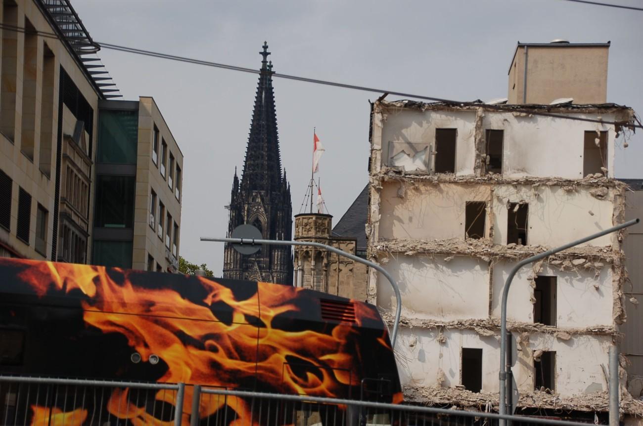 Hauptsache Domblick - doch ein homogenes Stadtbild ist nicht Kölns Sache