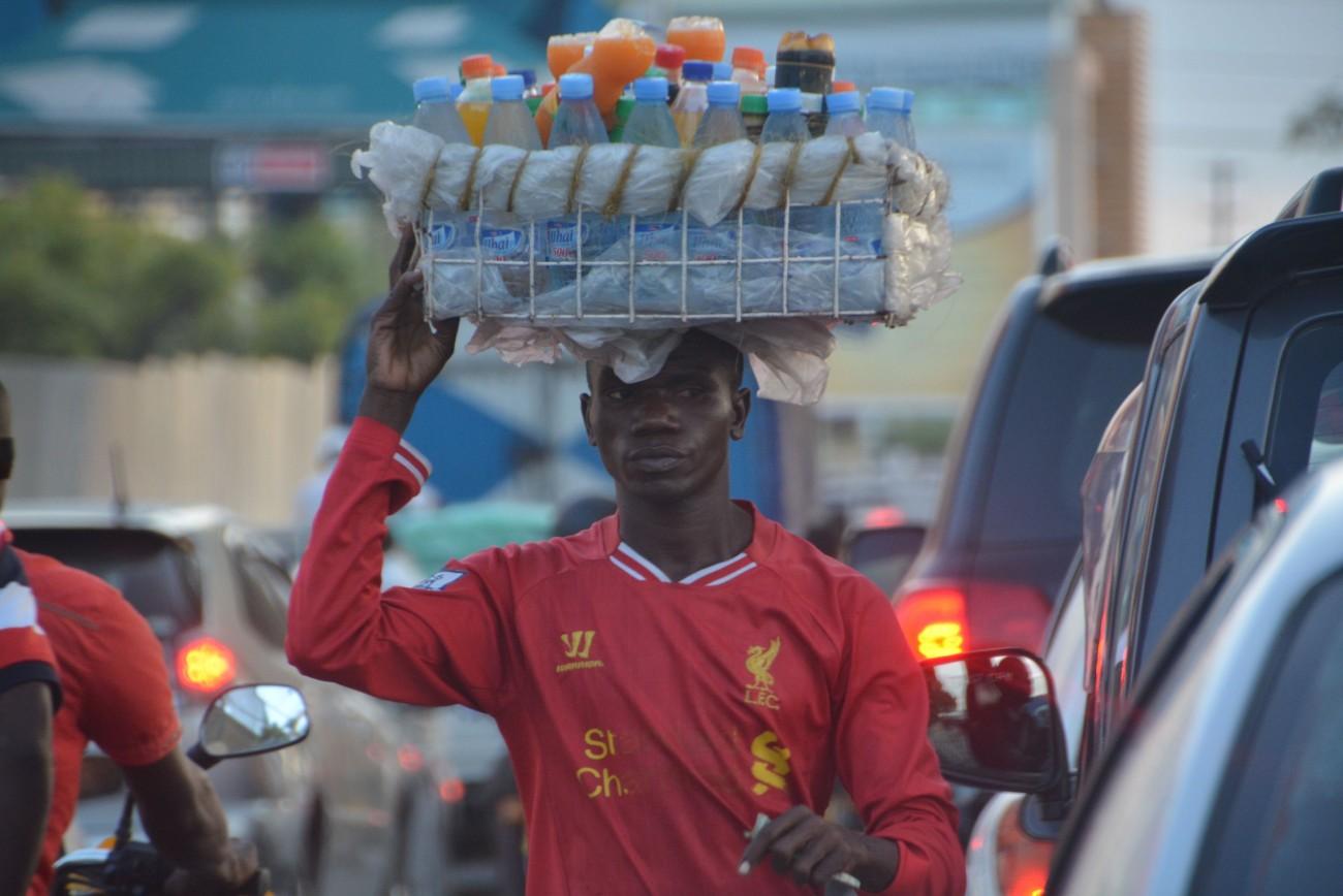 Kühlen Kopf bewahren: Getränke-Händler in Dar