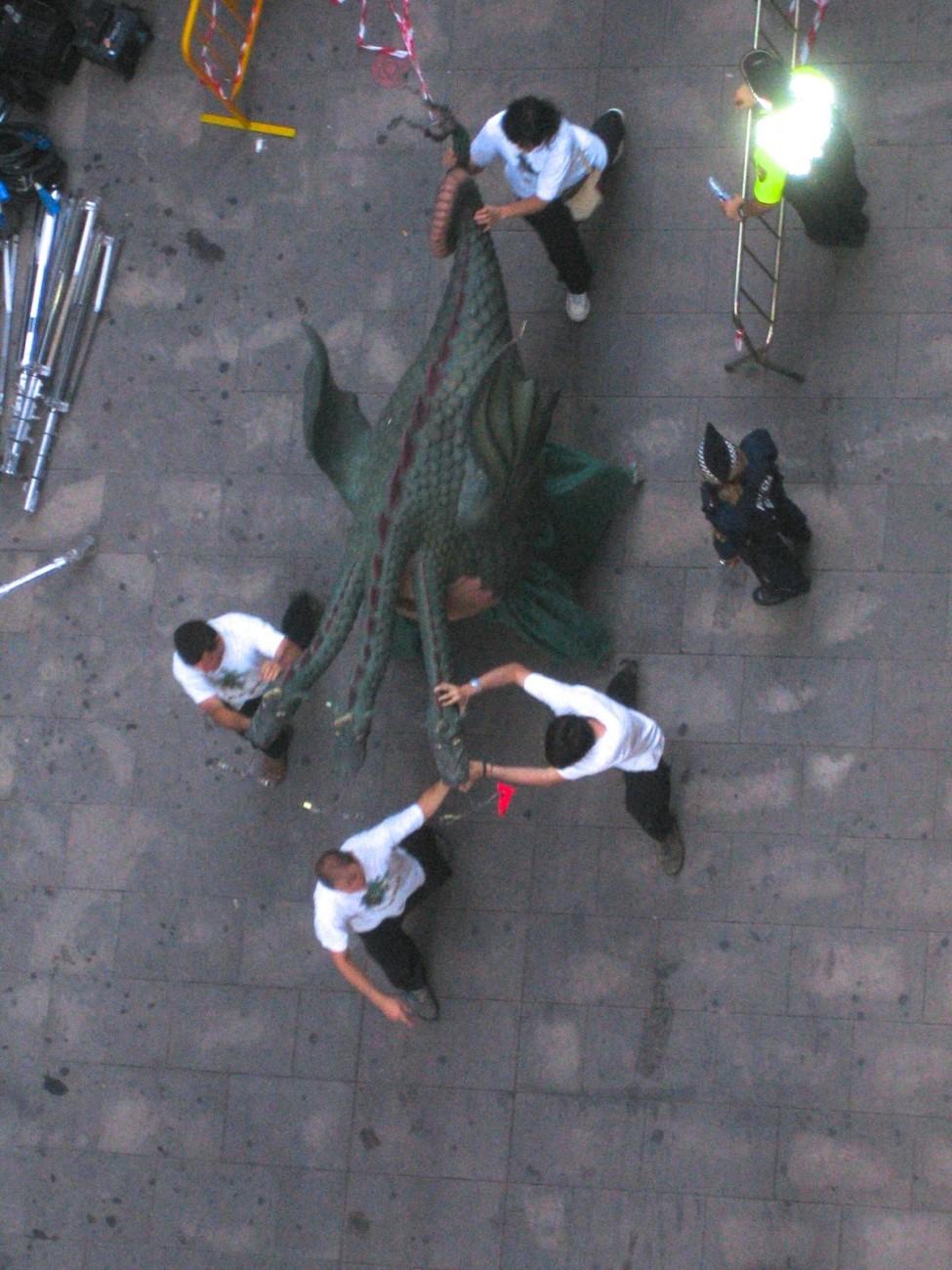 Vorsicht Monster: Dreharbeiten im Barri Gotic
