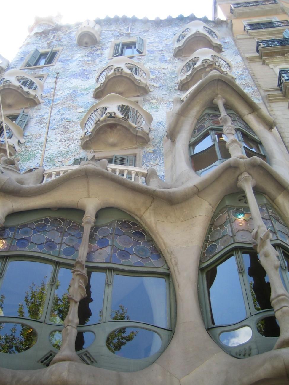 Wie aus dem Tim Burton-Film: Die Casa Batiló