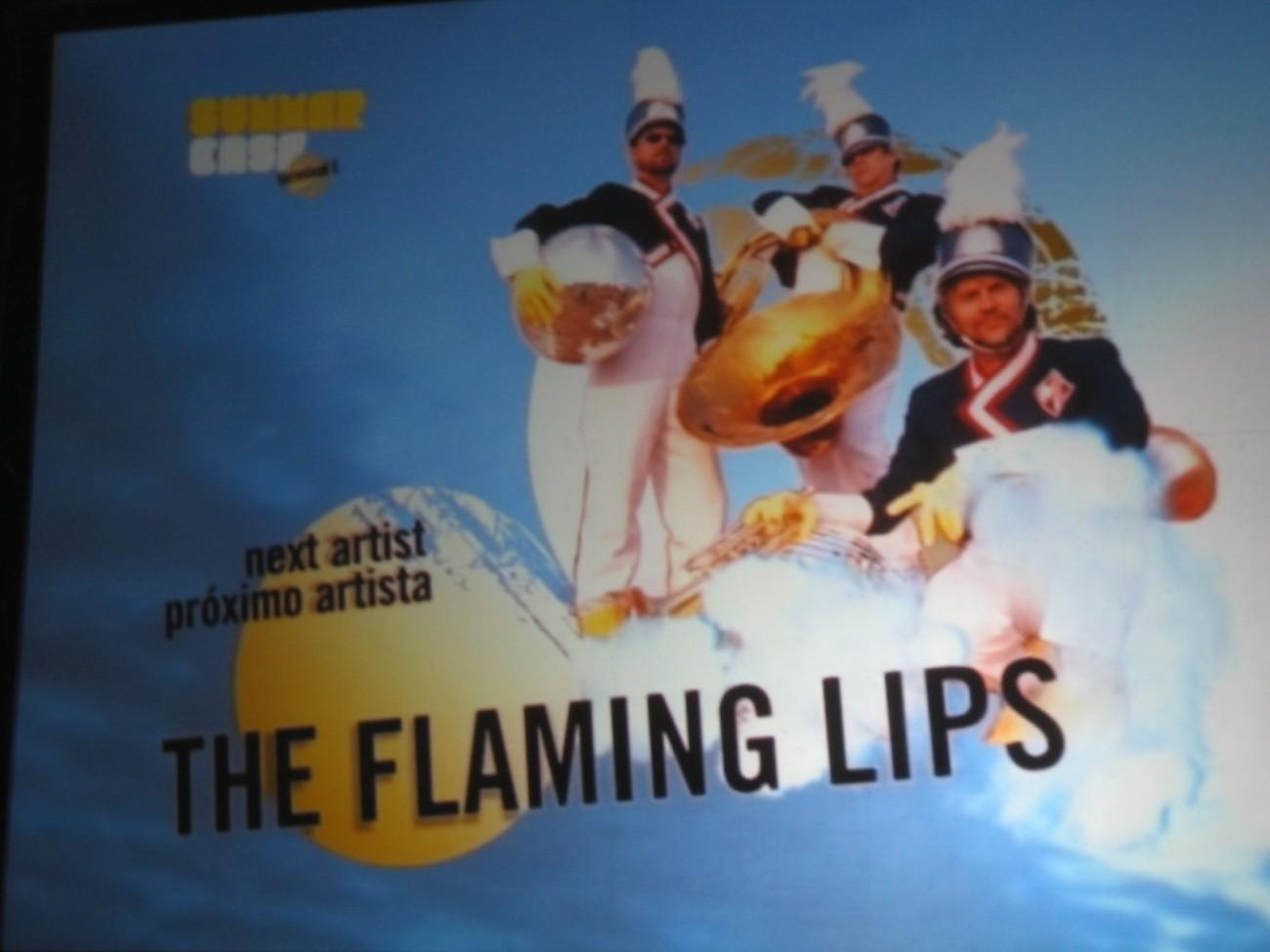 Begegnung in Barcelona: Wayne Coyne und die Flaming Lips