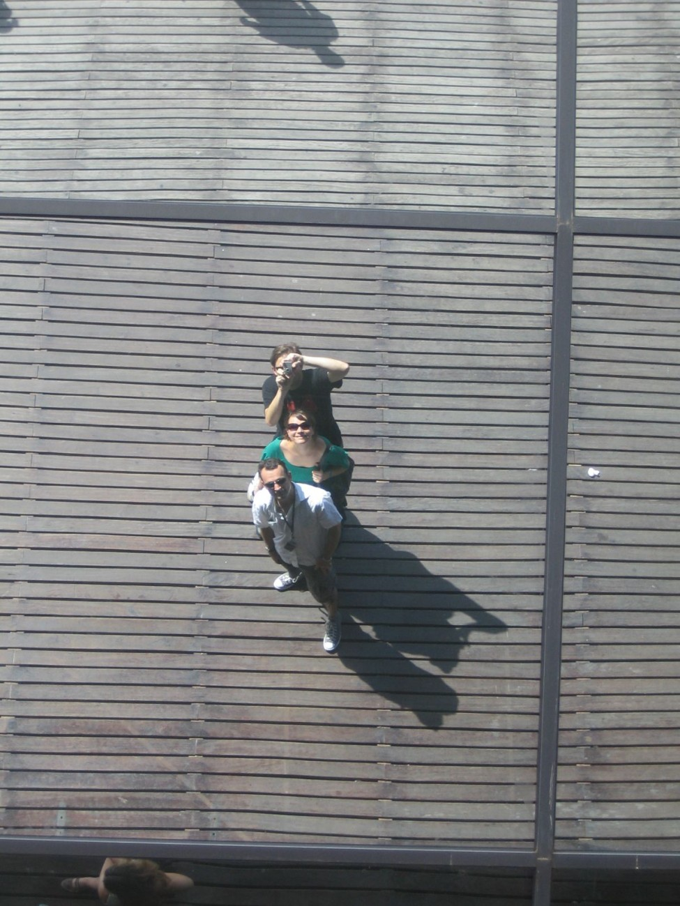 Gruppen-Selfie auf dem Weg zwischen Strand-Besuch und Montadito-Zwischenstopp