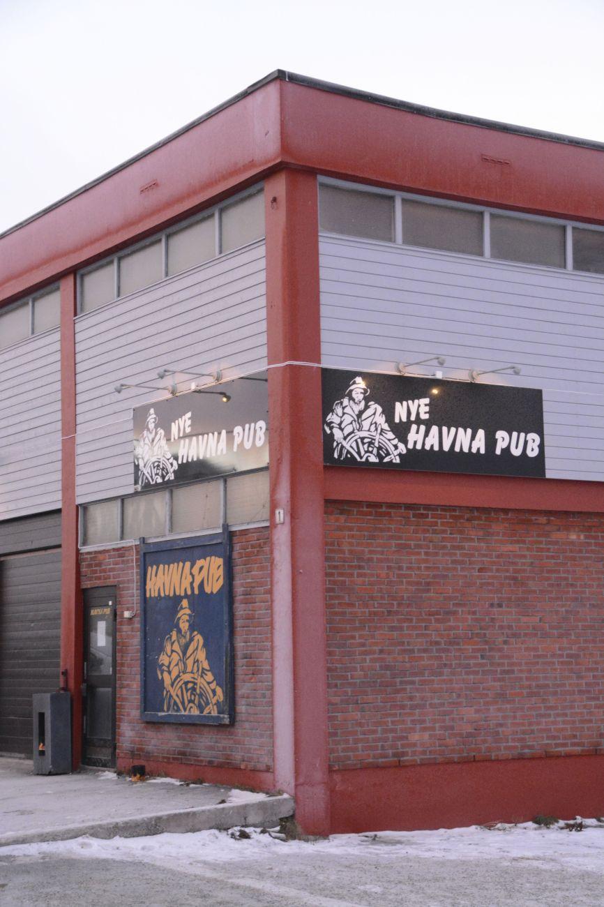 Der Havna-Pub ist eine Hafenspelunke. Angeblich ist sie die nördlichste Kneipe der Welt