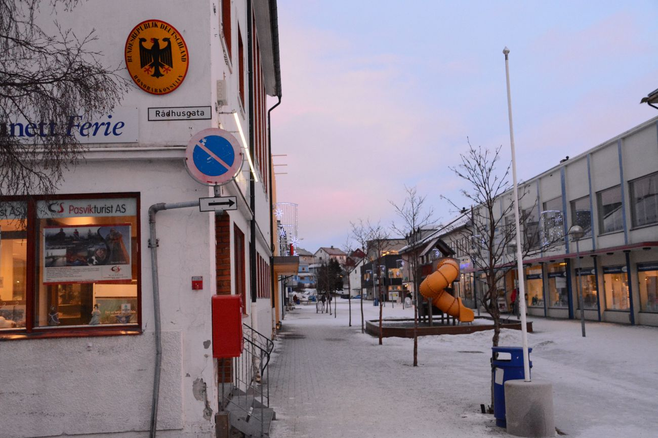 Kirkenes ist Sitz eines deutschen Honorarkonsuls