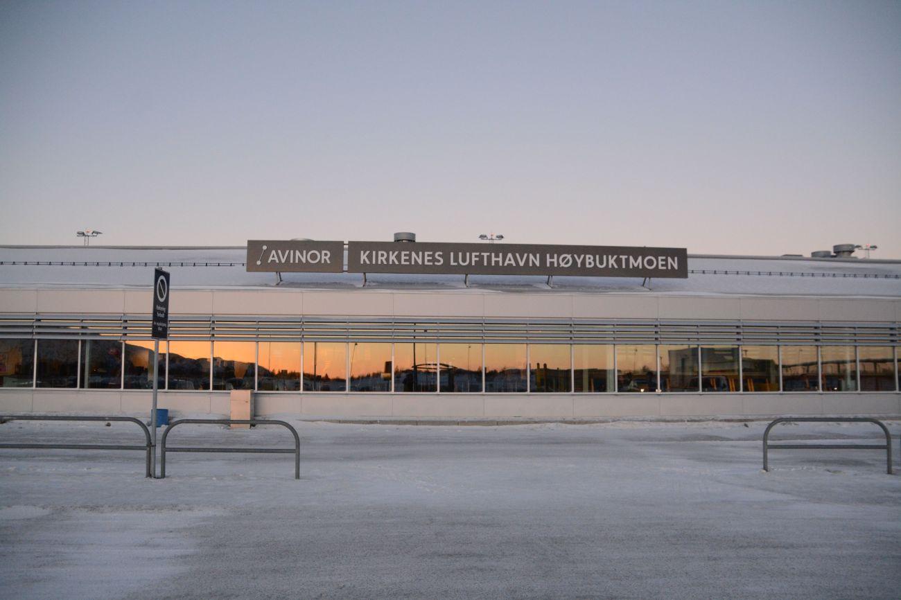 Wird mehrmals täglich von Deutschland aus angeflogen: Der Flughafen von Kirkenes