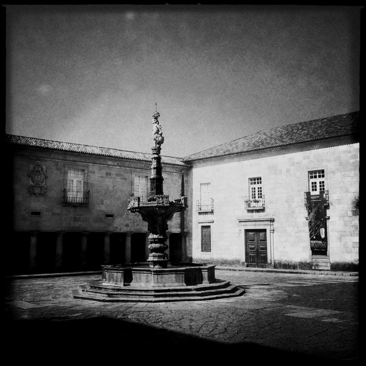 Verlassene Höfe machen jede Stadt lebenswert - Braga hat davon so einige