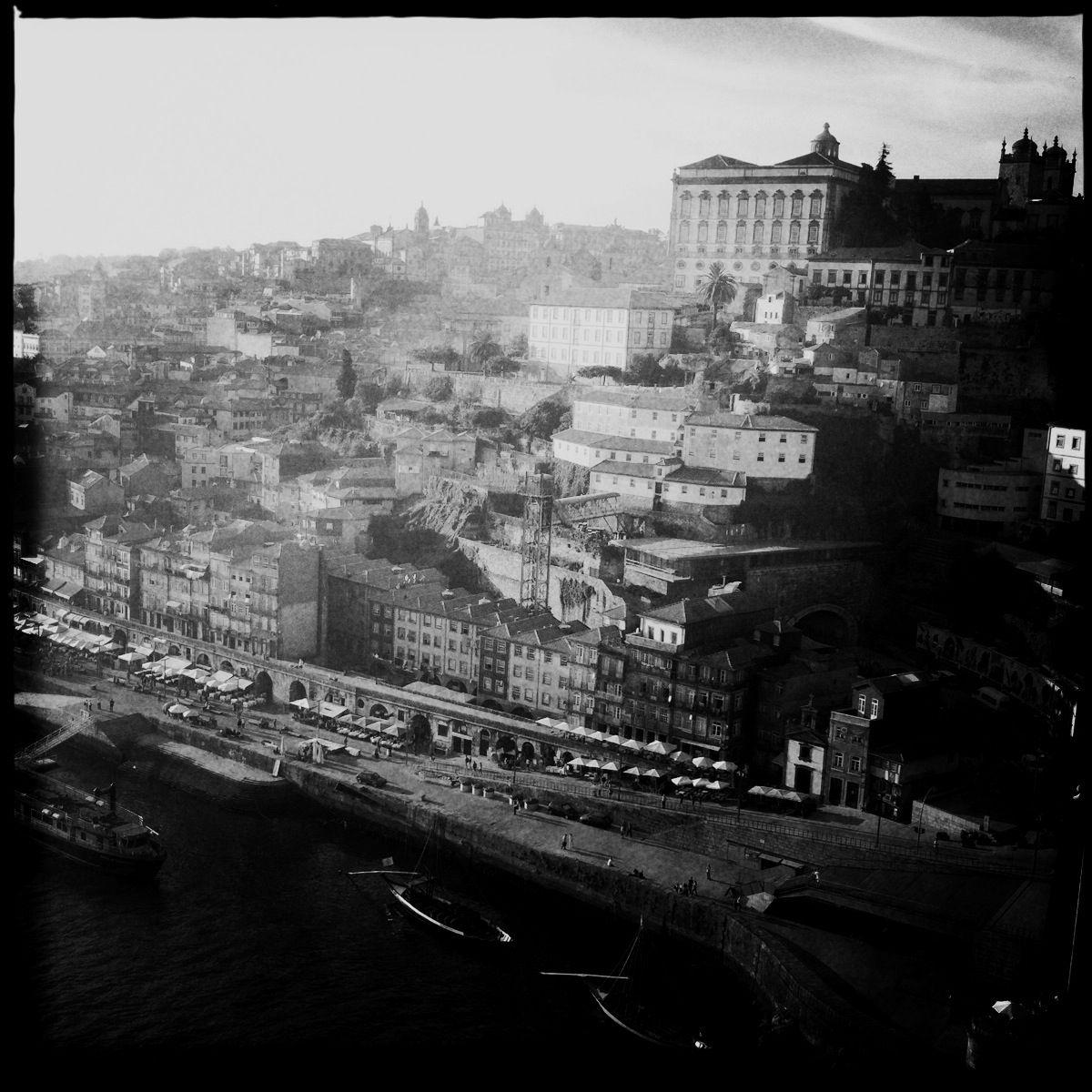 Oder doch? Dies ist die Perspektive von der Ponte Luis I.