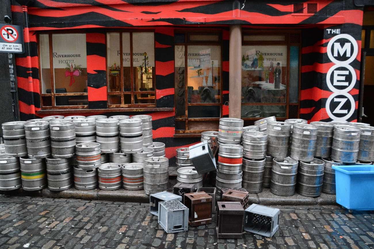 Das New Year's Festival in Dublin kündigt sich nicht nur in Form von Programmheften an