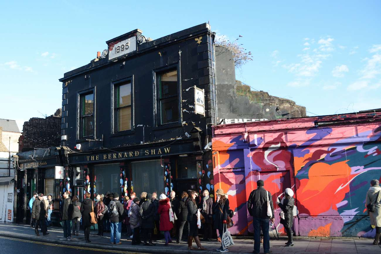 Authentischer Arbeiter-Pub mit prätentiösem Namen: The George Bernhard Shaw