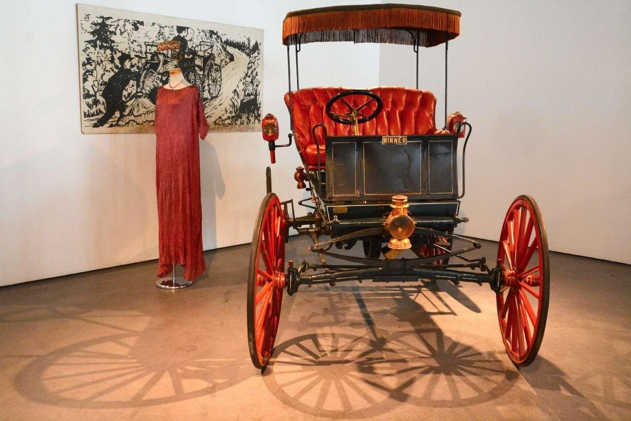 In der Belle Époque waren auch die Armaturen noch minimalistisch