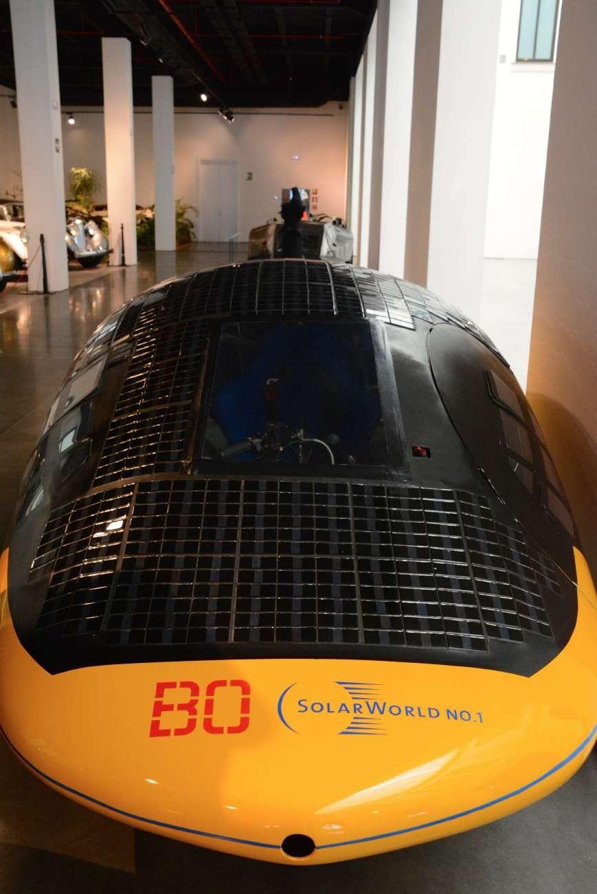 Als Fehlgeburt entpuppte sich das Solarauto von 2009 - trotz Sponsoring aus meiner Geburtsstadt