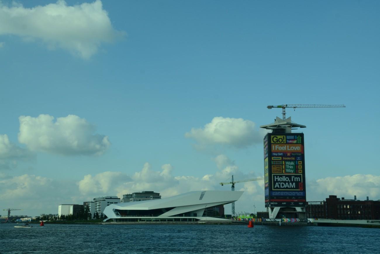 Lieblingsort Nr. 3: Noord, hier eingefangen von der Fähre zur NDSM-Werft