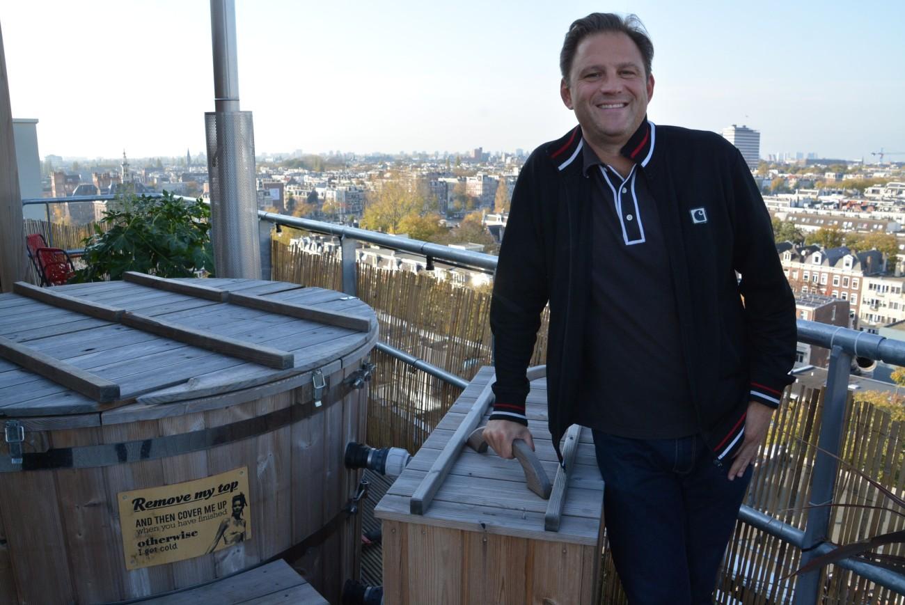 The big picture #2: Der Autor auf dem Dach des Volkshotel