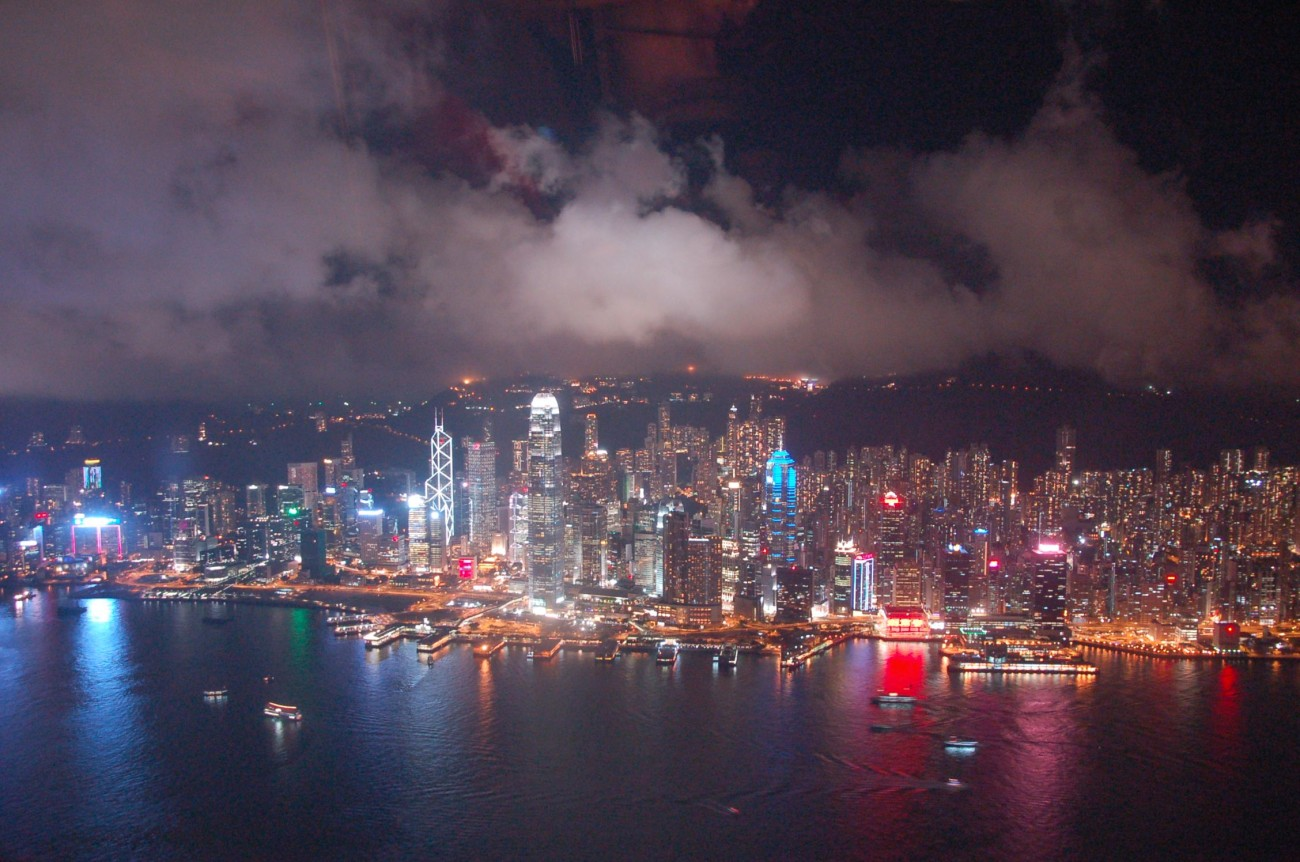 Auch wenn der Anblick der Skyline aus dem 115. Stock nicht schäbig ist