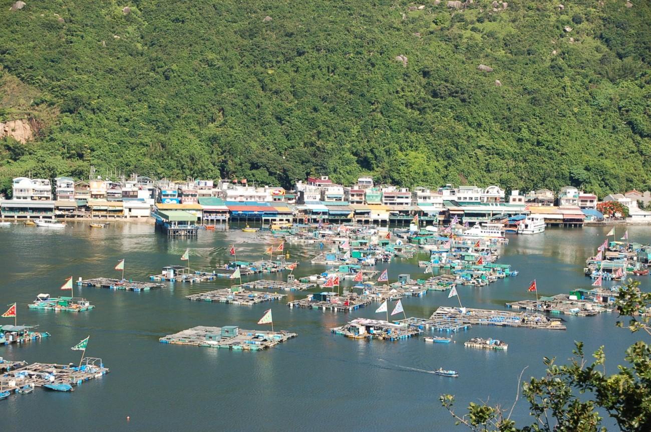 Ein schwimmendes Dorf statt treibende Menschenmassen: Auf Lamma Island ist Hongkong wie früher