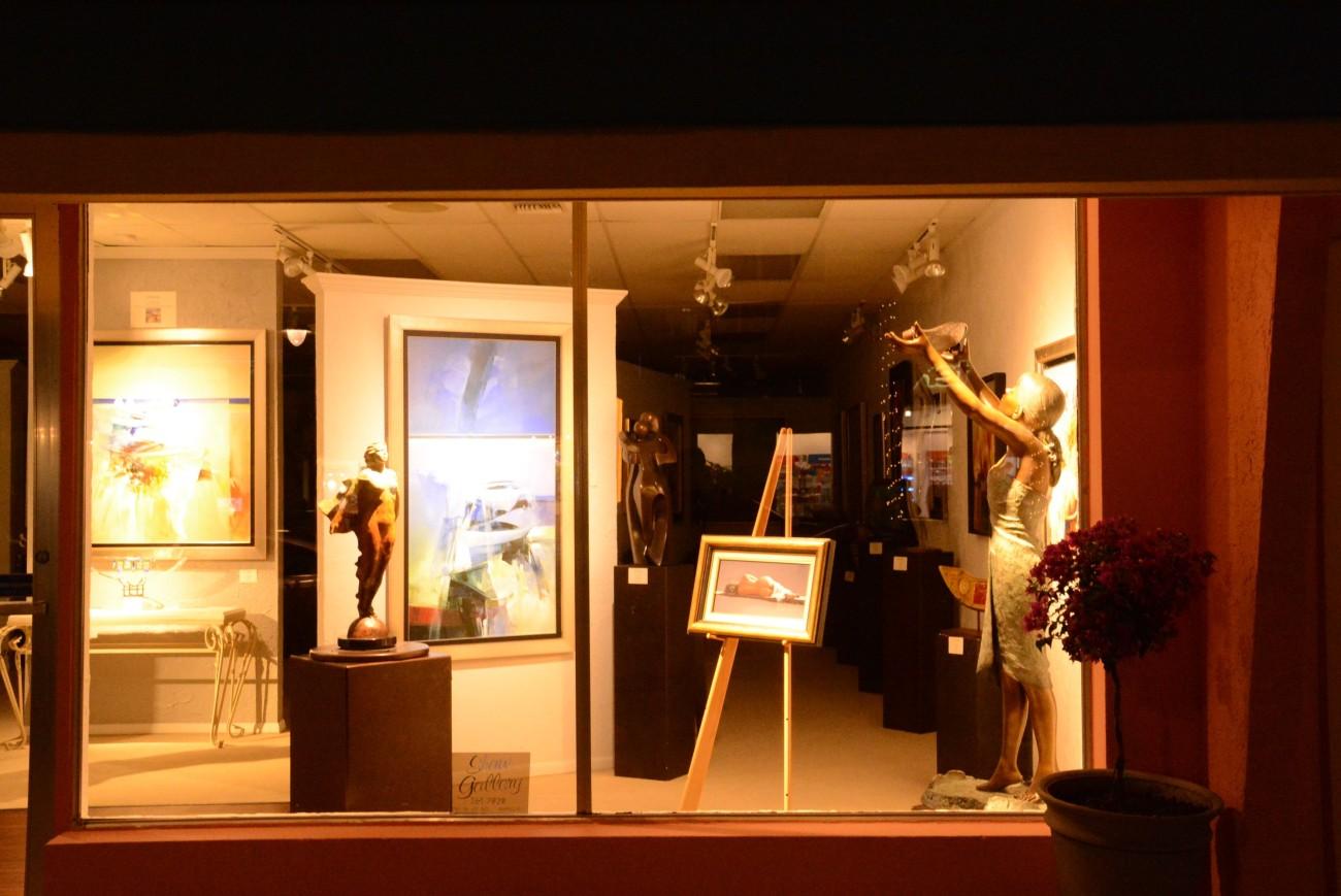 Auch die Galerien haben sich an den Geschmack der Millionäre aus dem Mittleren Westen angepasst