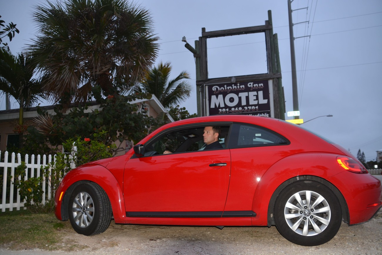 Zum Thema Roadtrip: Der Beetle ist mir während der fünf Wochen in Florida ans Herz gewachsen