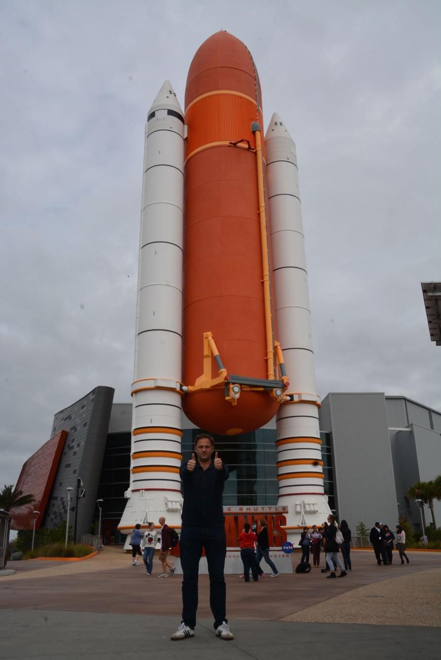 Auch das Kennedy Space macht Spaß - weil es weder Vergnügungspark noch artifizielle Parallelwelt ist