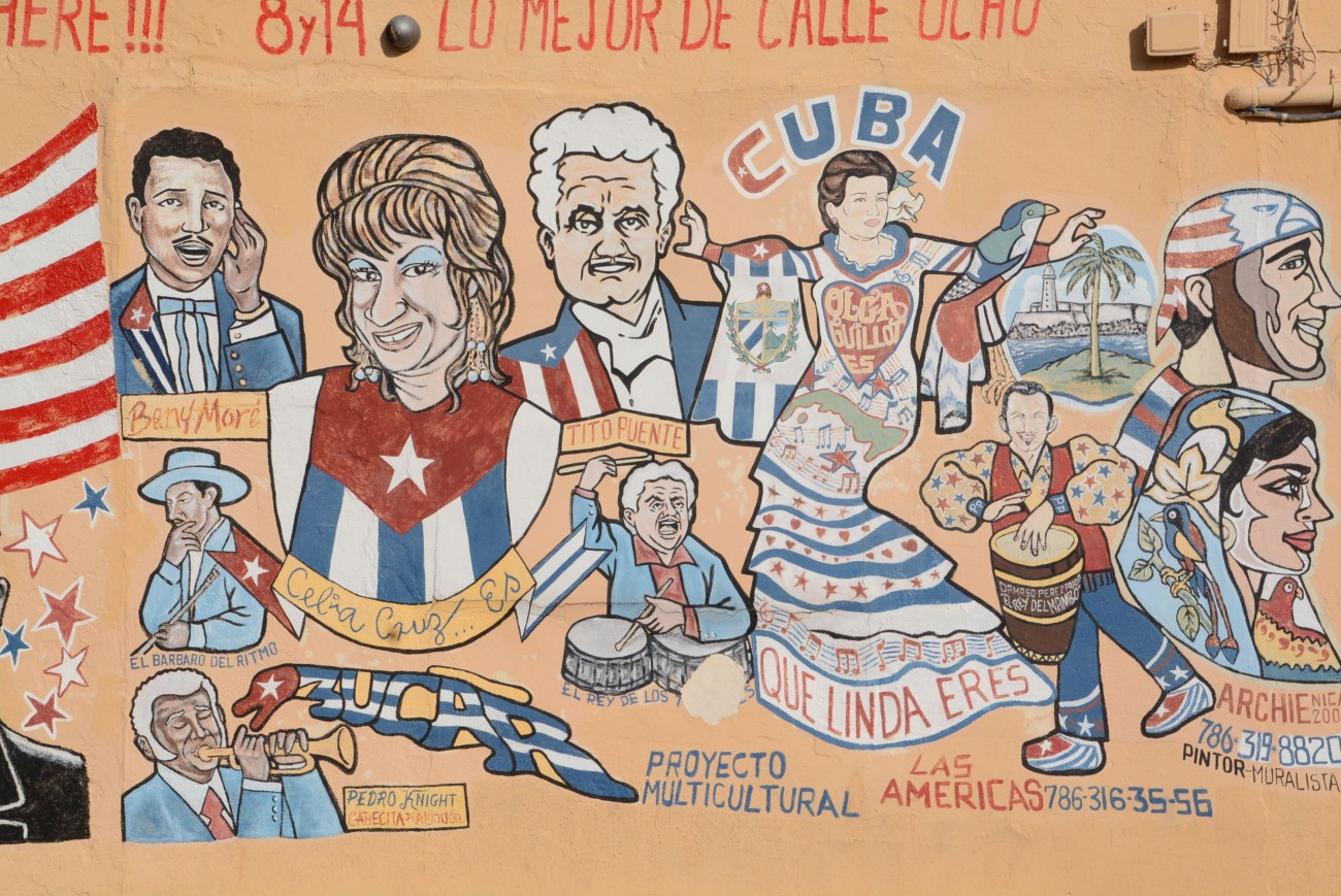Von Downtown kann man nach Little Havana laufen - ich habe das als vermutlich erster Mensch auf Erden auch gemacht